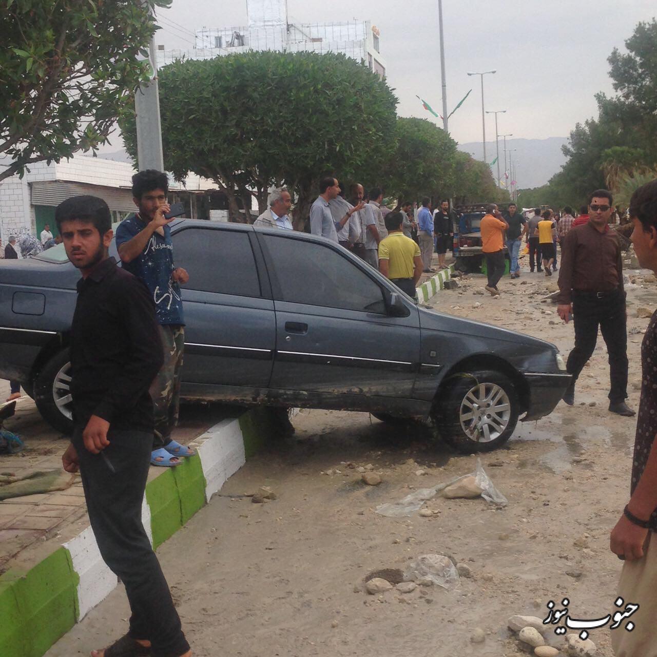 وقوع سونامی در جنوب استان بوشهر؛ 5 مفقود و 20 مجروح +عکس