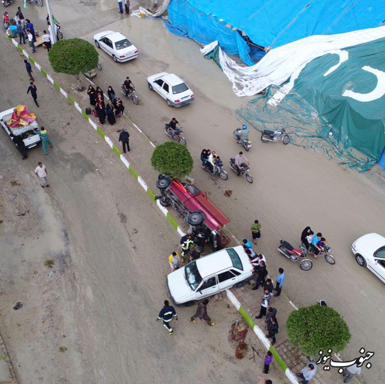 5 نفر مفقود و 20 نفر مجروح شدند +تصاویر